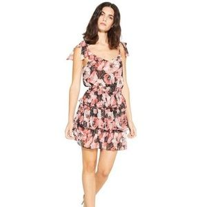 NWT MISA Los Angeles Revolve Salome Pink Tie Dress